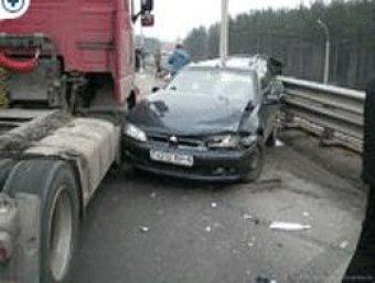 На МКАД столкнулись 8 автомобилей, есть пострадавшие