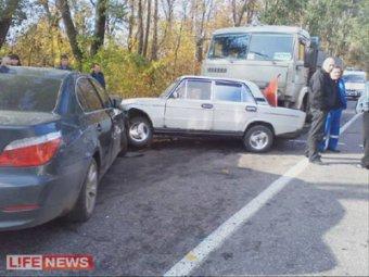 Под Пензой BMW сбила семерых пешеходов