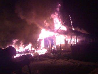 Страшный пожар в Красноярском крае: в огне погибли 9 человек, в том числе 5 детей