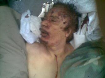 Обнародовано новое шокирующее видео последних минут Каддафи
