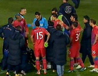 В Румынии фанат спровоцировал бойню футболистов и болельщиков прямо на поле