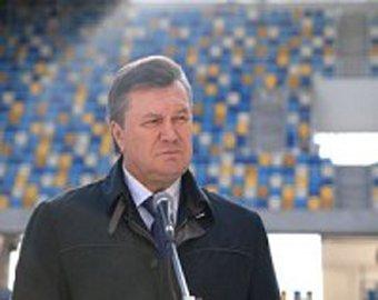 Януковича освистали на матче Украина – Германия