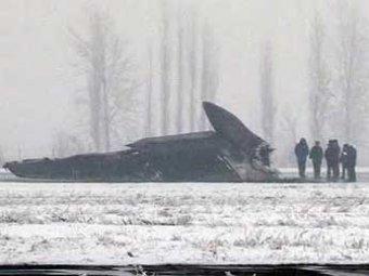 В Сети появились фото разбившегося в Киргизии Ту-134: чудом никто не погиб