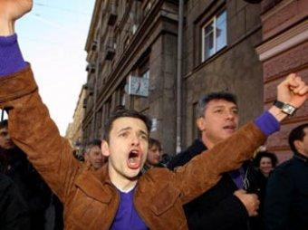 Яшина и Навального посадили на 15 суток в тюрьму