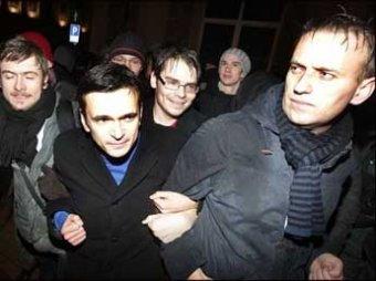 Навальный и Яшин вышли на свободу после 15 суток ареста