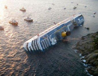 Обнародована поминутная хроника крушения лайнера Costa Concordia