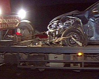 В Подмосковье столкнулись девять машин, один человек погиб