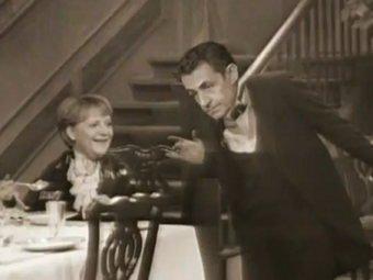 Пародийный ролик с Саркози и Меркель стал хитом Youtube