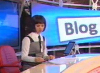 В эфире ТВК телеведущая похоронила Владимира Путина