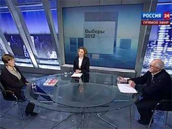 СМИ: Михалков и сестра Прохорова провели самые нелепые теледебаты