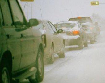 На северо-востоке Москвы столкнулись сразу 20 машин