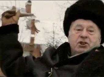 Жириновский в предвыборном ролике жестоко избил осла