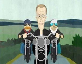 Януковича высмеяли в предвыборном ролике Путина