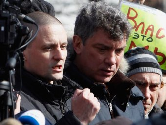 Удальцов и Немцов рассказали про весенние акции оппозиции