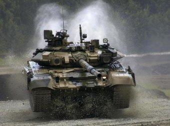Россия впервые показала свой самый современный танк Т-90С