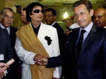 СМИ: Каддафи вложил 50 миллионов евро в предвыборную кампанию Саркози