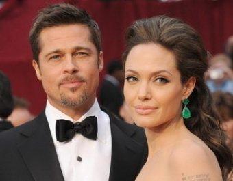 Анджелина Джоли и Брэд Питт объявили о помолвке