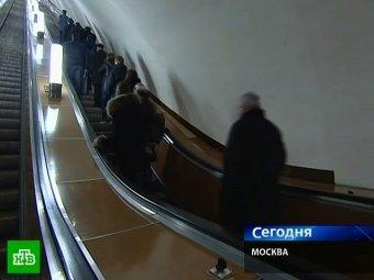 ЧП на экскалаторе в столичном метро: 6 человек госпитализированы