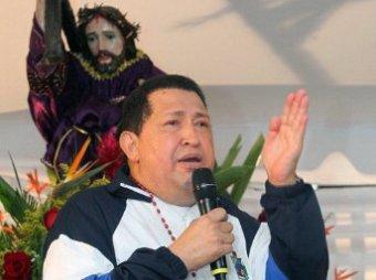 Чавес со слезами на глазах попросил Бога об исцелении от рака