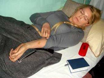 В СМИ попали фото избитой Тимошенко