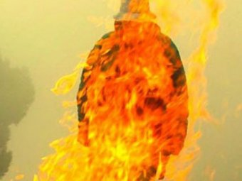 В Челябинской области бизнесмен совершил акт самосожжения