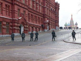 В Москве у закрытой Красной площади задержали 55 человек