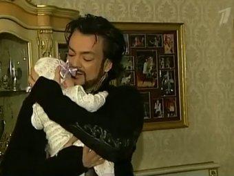 Филипп Киркоров со скандалом крестил в Москве дочь