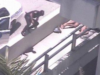 Появились фото мужчины, которому обглодал лицо каннибал из Майами