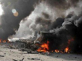 """На военном полигоне """"Ашулук"""" взорвались сотни ящиков с боеприпасами"""