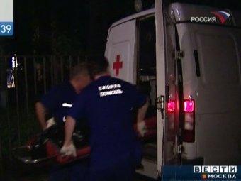 В Москве насмерть разбилась пьяная офицер полиции