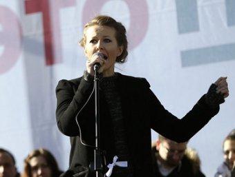 """Собчак объяснила, почему не пошла на """"Марш миллионов"""""""