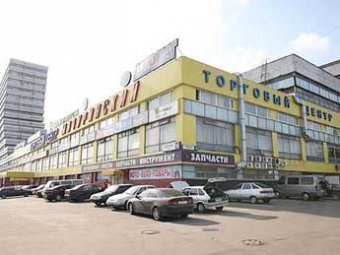 На юго-западе Москвы в  торговом центре обрушились перекрытия