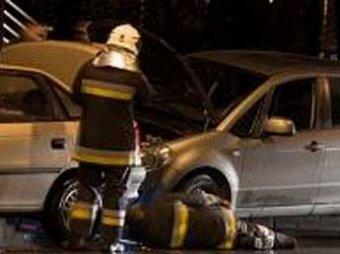 Столичный гаишник на чужом «Мерседесе» выехал на встречку и протаранил семь машин