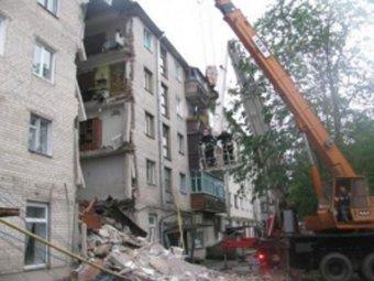 На Украине обрушилась жилая пятиэтажка: есть погибшие