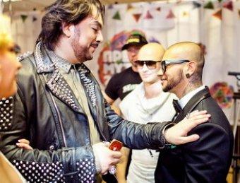 СМИ: Киркоров с Тимати своими разборками прикрыли премию МУЗ-ТВ