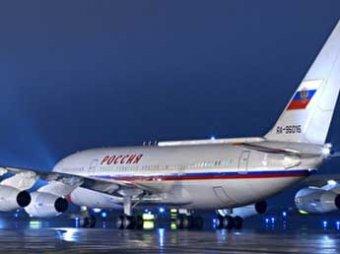 Сильный шторм повредили самолет Путина на пути в Ташкент