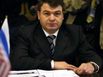 Сердюков предложил Медведеву уволить себя