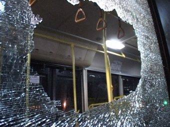 В Москве на МКАД обстреляли 3 рейсовых автобуса
