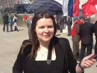 Журналистка, якобы избитая Удальцовым, заявила о новом избиении