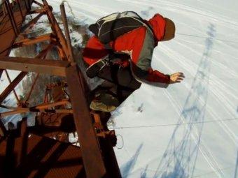 Экстремал выжил после падения с высоты 160 метров