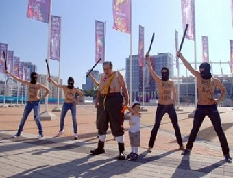 "Активистки FEMEN разделись против приезда ""маньяка"" Лукашенко на финал Евро"