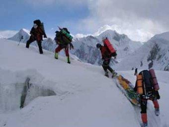 Пятеро альпинистов погибли в швейцарских Альпах
