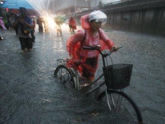 Пекин ушел под воду из-за сильнейшего за 60 лет ливня