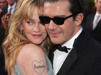 Брак Антонио Бандераса и Мелани Гриффит дал трещину