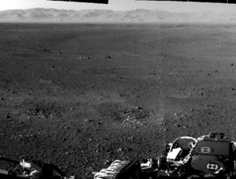 Curiosity заснял на Марсе странный объект