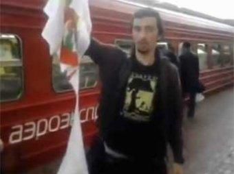 Православные активисты в Москве напали на человека в футболке с Pussy Riot
