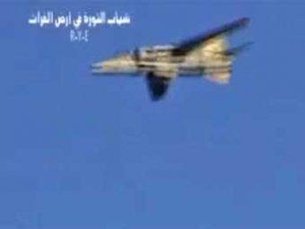 В Сирии повстанцы сбили правительственный истребитель и пленили пилота