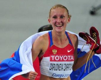 Зарипова победила в беге на 3000 м с препятствиями на Олимпиаде в Лондоне