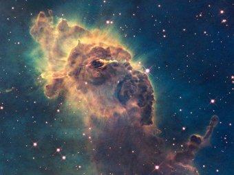 """Обнаружена новая галактика, """"рождающая"""" по 2 звезды в день"""