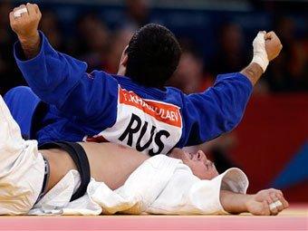 В присутствии Путина дзюдоист Тагир Хайбулаев принес России третье золото Олимпиады